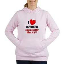 Cute Anniversary Women's Hooded Sweatshirt