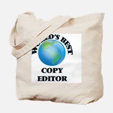 World's Best Copy Editor Tote Bag