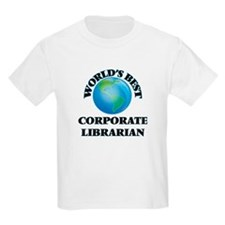 World's Best Corporate Librarian T-Shirt