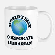 World's Best Corporate Librarian Mugs