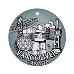 Vancouver Souvenir Ornament Keepsake Canada Gift