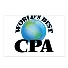 World's Best Cpa Postcards (Package of 8)