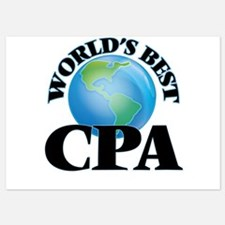 World's Best Cpa Invitations