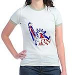Statue of Liberty Patriotic Women's Ringer