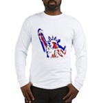 Statue of Liberty Patriotic Long Sleeve T-Shirt