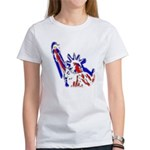 Statue of Liberty Patriotic Women's T-Shirt