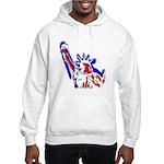 Statue of Liberty Patriotic Hooded Sweatshirt