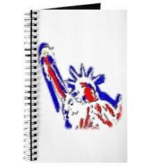 Statue of Liberty Patriotic Journal