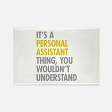Personal Assistant Thing Rectangle Magnet
