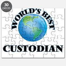 World's Best Custodian Puzzle