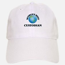 World's Best Custodian Baseball Baseball Cap