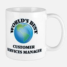 World's Best Customer Services Manager Mugs