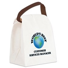 World's Best Customer Services Ma Canvas Lunch Bag
