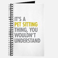 Pet Sitting Thing Journal
