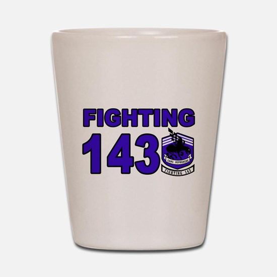 Cool Fighting dogs Shot Glass