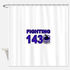 Cute Fighting dogs Shower Curtain