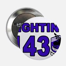 "Funny Fighting dogs 2.25"" Button (10 pack)"