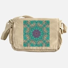 colourful bold bohemian pattern  Messenger Bag
