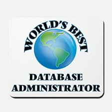 World's Best Database Administrator Mousepad