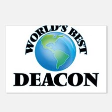 World's Best Deacon Postcards (Package of 8)