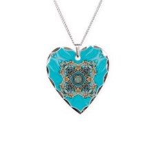colourful bold turquoise bohe Necklace