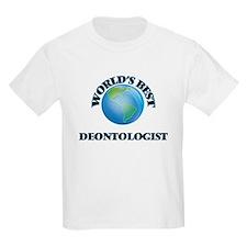 World's Best Deontologist T-Shirt