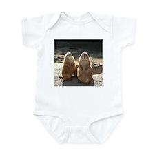 Two Prairie Dogs Infant Bodysuit