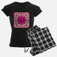 abstract fuschia bohemian sh Pajamas