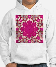 abstract fuschia bohemian shells Hoodie
