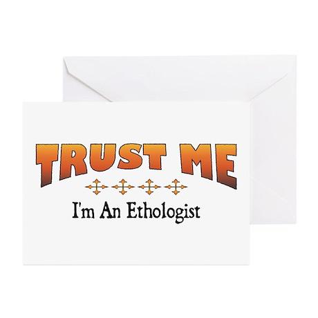 Trust Ethologist Greeting Cards (Pk of 10)