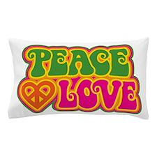 Peace & Love Pillow Case