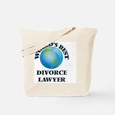 World's Best Divorce Lawyer Tote Bag