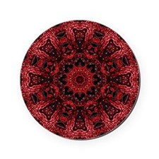 colourful bold bohemian pattern Cork Coaster