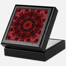 colourful bold bohemian pattern Keepsake Box