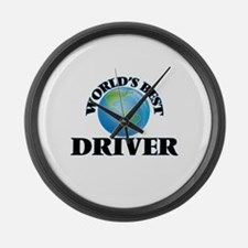 World's Best Driver Large Wall Clock