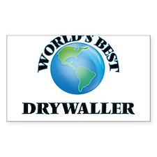 World's Best Drywaller Decal
