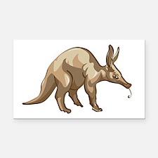 Aardvark Rectangle Car Magnet