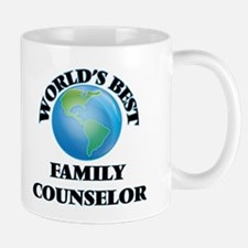 World's Best Family Counselor Mugs
