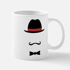 Mustached Man Mugs