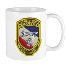 USS FOX Small Mug