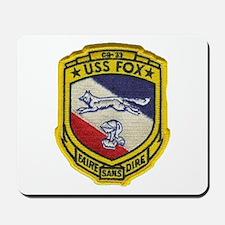 USS FOX Mousepad
