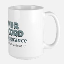 Silver Cord Insurance Large Mug