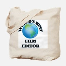 World's Best Film Editor Tote Bag