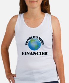World's Best Financier Tank Top