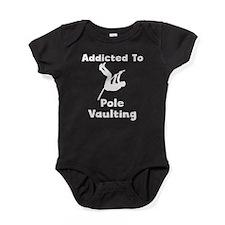 Addicted To Pole Vaulting Baby Bodysuit