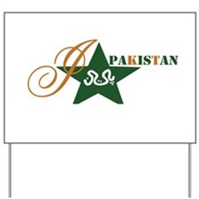 I love Pakistan Yard Sign