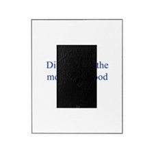 Diligence is the mother of good luck Picture Frame