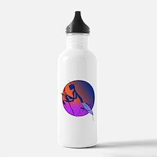 Praying Mantis Meditation Water Bottle