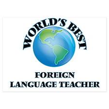 World's Best Foreign Language Teacher Invitations