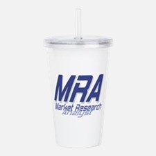Cool Market Research A Acrylic Double-wall Tumbler